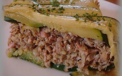 recette - charlotte d'agneau aux courgettes