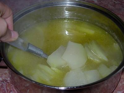 recette - chou rave glac� au miel