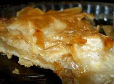 recette - croustade aux pommes du sud ouest