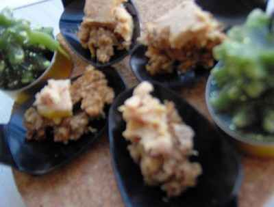 recette - cuillères essene de foie gras
