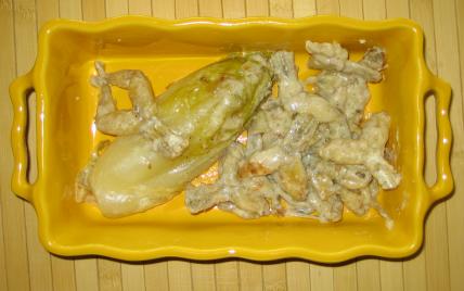 recette - cuisse de grenouille aux endives