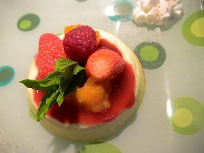recette - fiadone aux fruits d'été