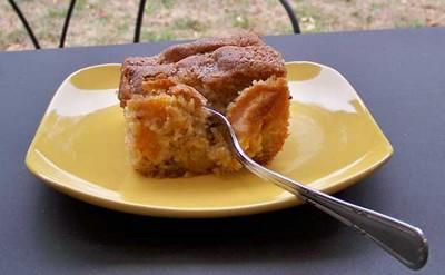 recette - fondant aux abricots