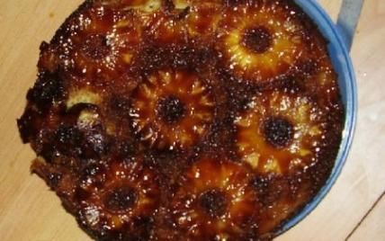 recette - gâteau à l'ananas et poudre d'amandes