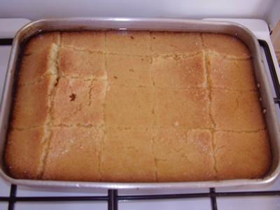 recette - gâteau harrissa