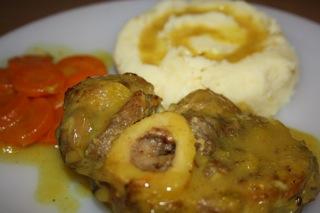 recette - jarret de veau à l'orange