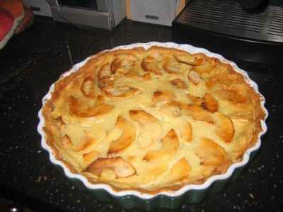 recette - la tarte aux pommes