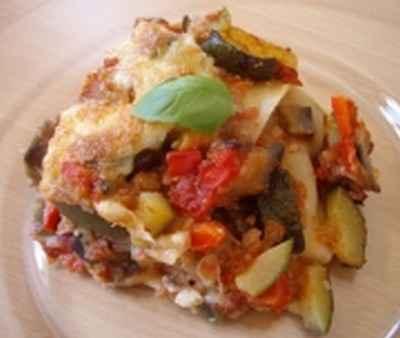 recette - lasagnes provençales au thon