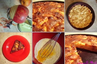 recette - le gâteau trop facile aux pommes
