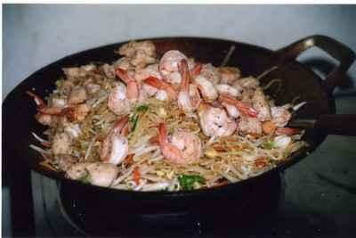 recette - les nouilles thaïlandaises (pad thaï)