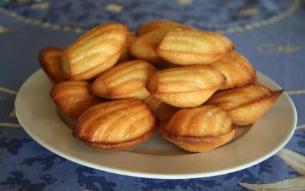 recette - madeleines au yaourt