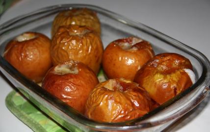 recette - mes pommes au four