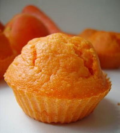 recette - muffins abricot et carotte