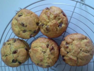 recette - muffins curry, raisins et sésames