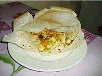 recette - papillote de colin aux pommes et curry