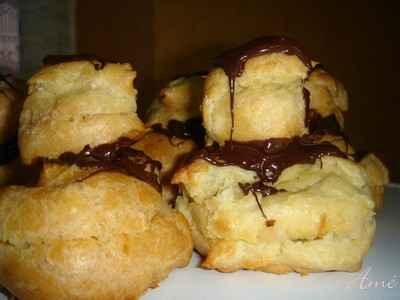 recette - religieuses à la crème vanille et au chocolat