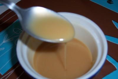 recette - sauce au caramel