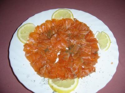 Recette saumon gravlax facile et rapide - Saumon gravlax rapide ...