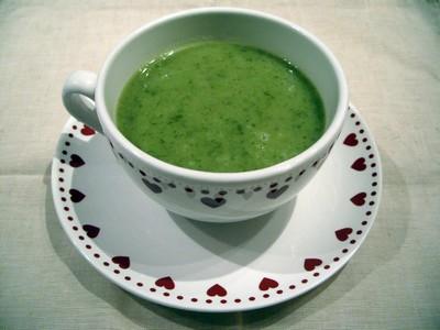 recette - soupe de laitue