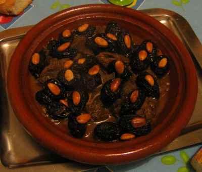 recette - tajine aux pruneaux marocain