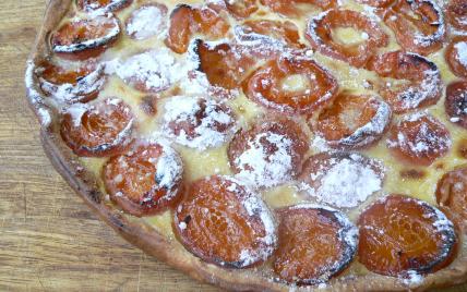 Recette tarte aux abricots a l 39 ancienne facile et rapide - Recette de tarte aux abricots ...