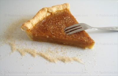 recette - tarte fondante au sirop d'érable