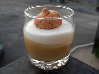 Recette verrine douceur la compote facile et rapide - Verrine sucree facile et rapide ...