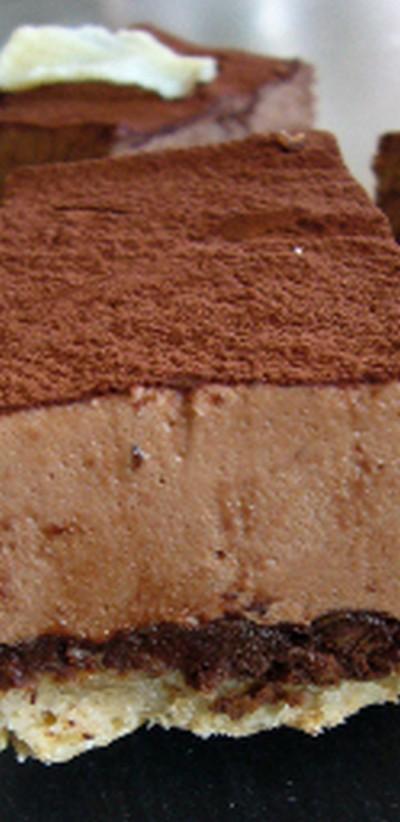 recette - baltic croustillant au chocolat au lait