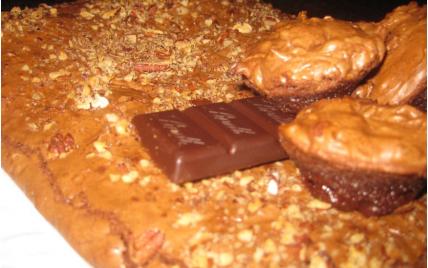 recette - brownie aux noix