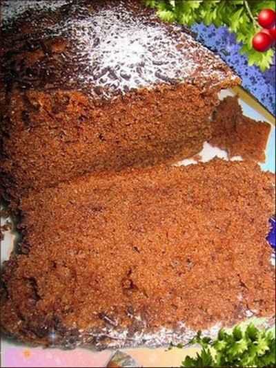 recette - cake au cacao, léger,léger..