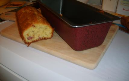 recette - cake lard, parmesan, cumin