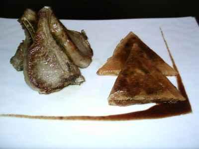 recette - côtes d'agneau, pissaladière en samoussa