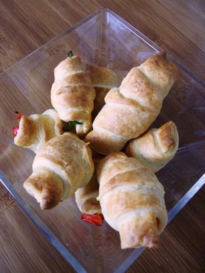 recette - croissants en fête