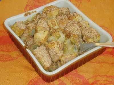 recette - endives et pavés de thon au curry façon gratin