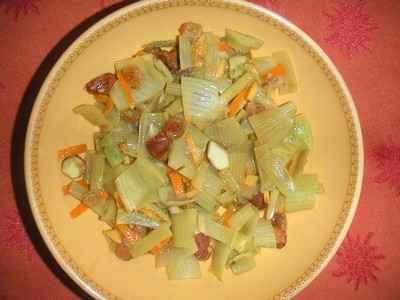 recette - fenouil safrané