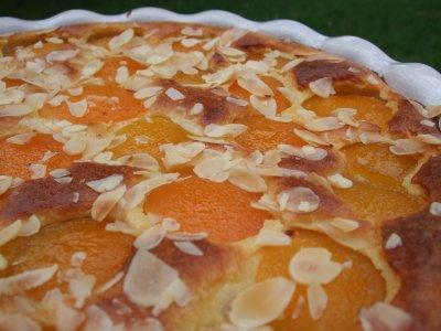 recette - gâteau abricots et amandes façon clafoutis