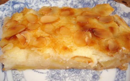 recette - gâteau aux pommes à la crème fraîche