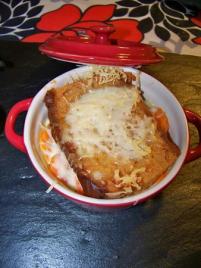 recette - gratin de carottes au curry et au pain d'épices en petites cocottes