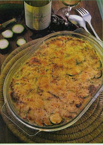 recette gratin de courgettes cr meux au riz et thon facile et rapide. Black Bedroom Furniture Sets. Home Design Ideas