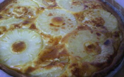 recette - la tarte à l'ananas