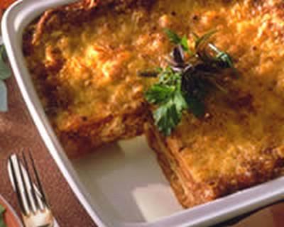Recette lasagnes aux l gumes et au thon facile et rapide - Lasagne facile et rapide ...