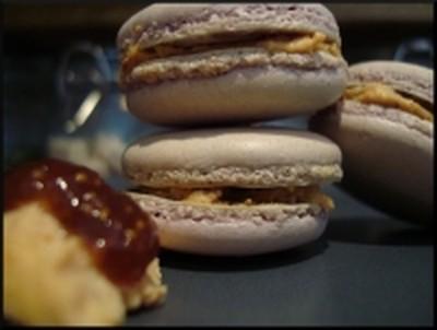 recette macarons foie gras et figues facile et rapide. Black Bedroom Furniture Sets. Home Design Ideas