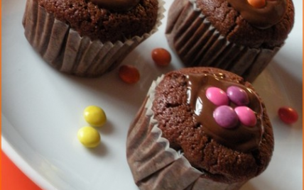 recette - mini cakes au chocolat