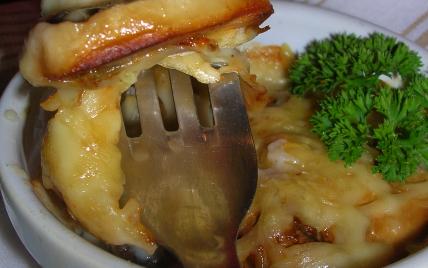 recette - mini gratin de la mer avec son c