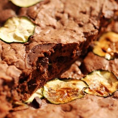 recette - moelleux tout moelleux et chocolat et courgette