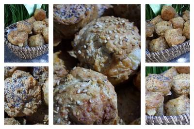 recette - muffins au comté et aux céréales