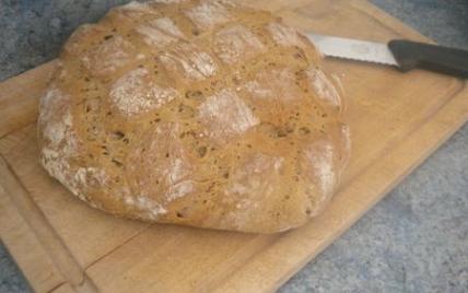 recette - pain maison sans sel spécial machine à pain