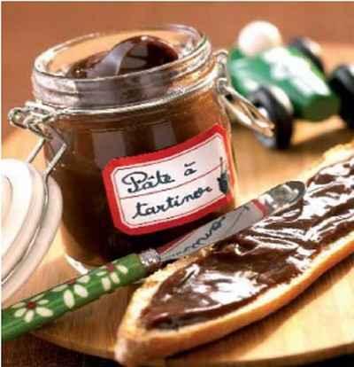 recette p 226 te 224 tartiner chocolat noisettes facile et rapide