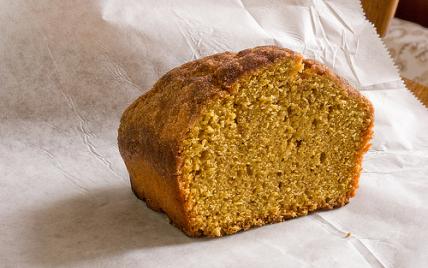 recette - pumcking bread