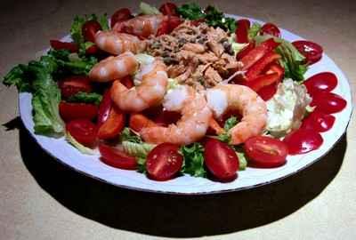 recette - salade de mer a flo